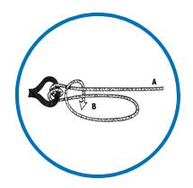 Icona nodo lenza - servizi negozio pesca Formia