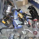 Assortimento mulinelli da pesca